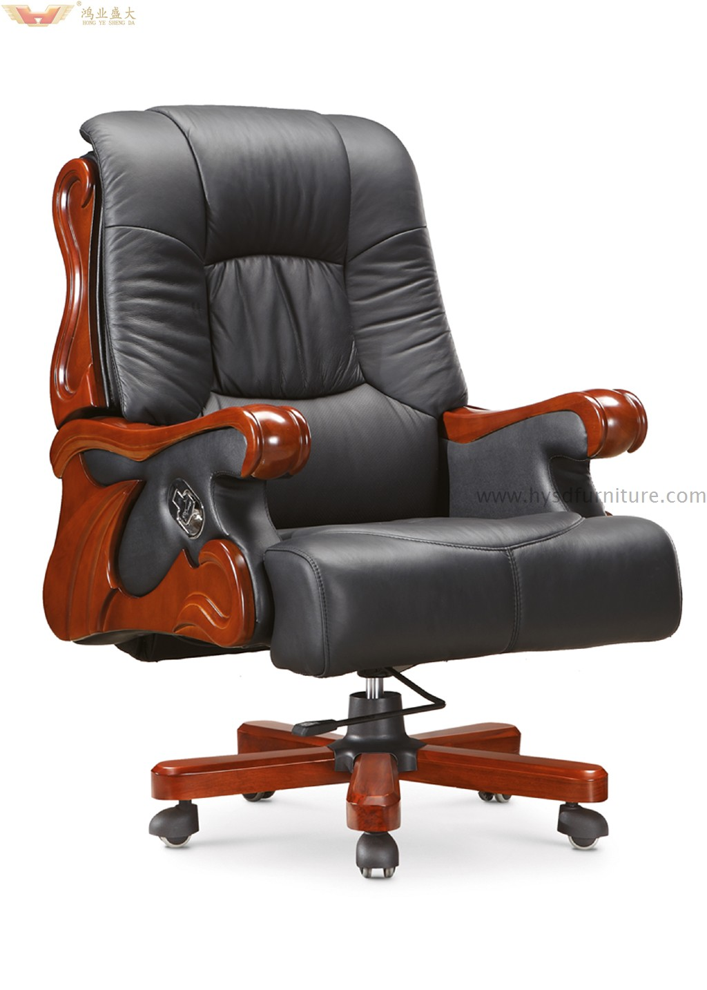 Luxury Executive Commercial Leather Office Chair (A-041) | China ...