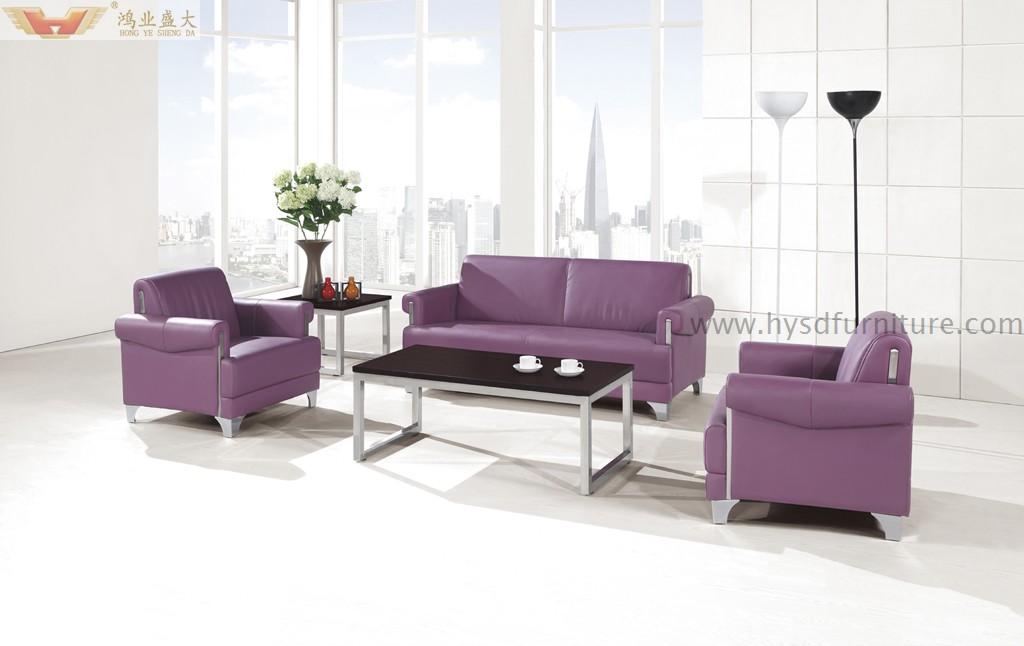 Best Selling Modern Office Sectional Leather Sofa Hy F1001