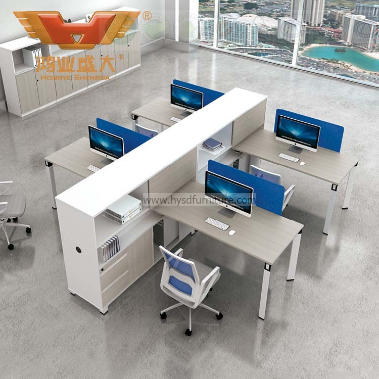 person office desk. New Design Modern 6 Person Seats FSC Forest Certified Approved By SGS Office Workstation For Green Work Station System Combination Partition (H50 Desk