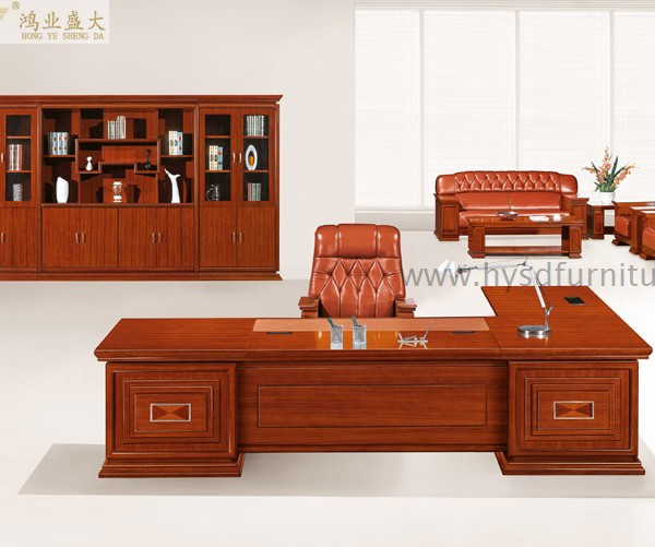 Top Quality Classic Office Furniture Presidential Desk Hy