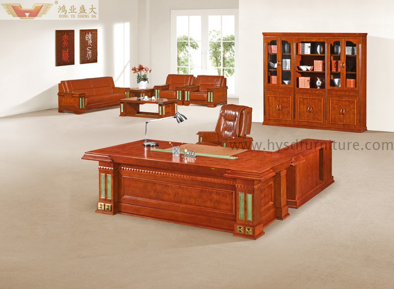high quality presidential furniture luxury boss office desk hy d5824