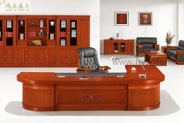 Luxury Antique Wood Presidential Furniture Executive