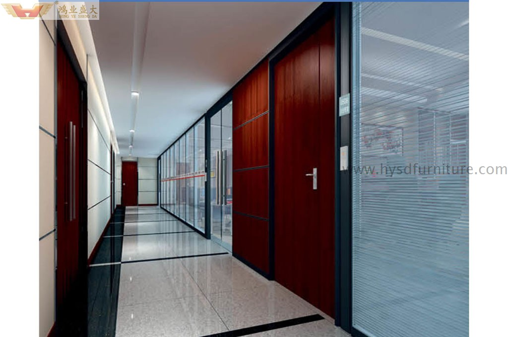 office partition wall glass