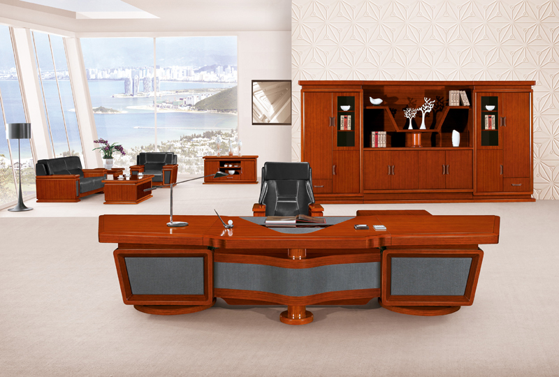 New Style Furniture high end modern office furniture presidential desk for sale (hy-鸿