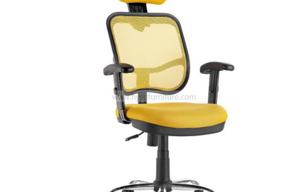 Mesh Office Chair with Headrest