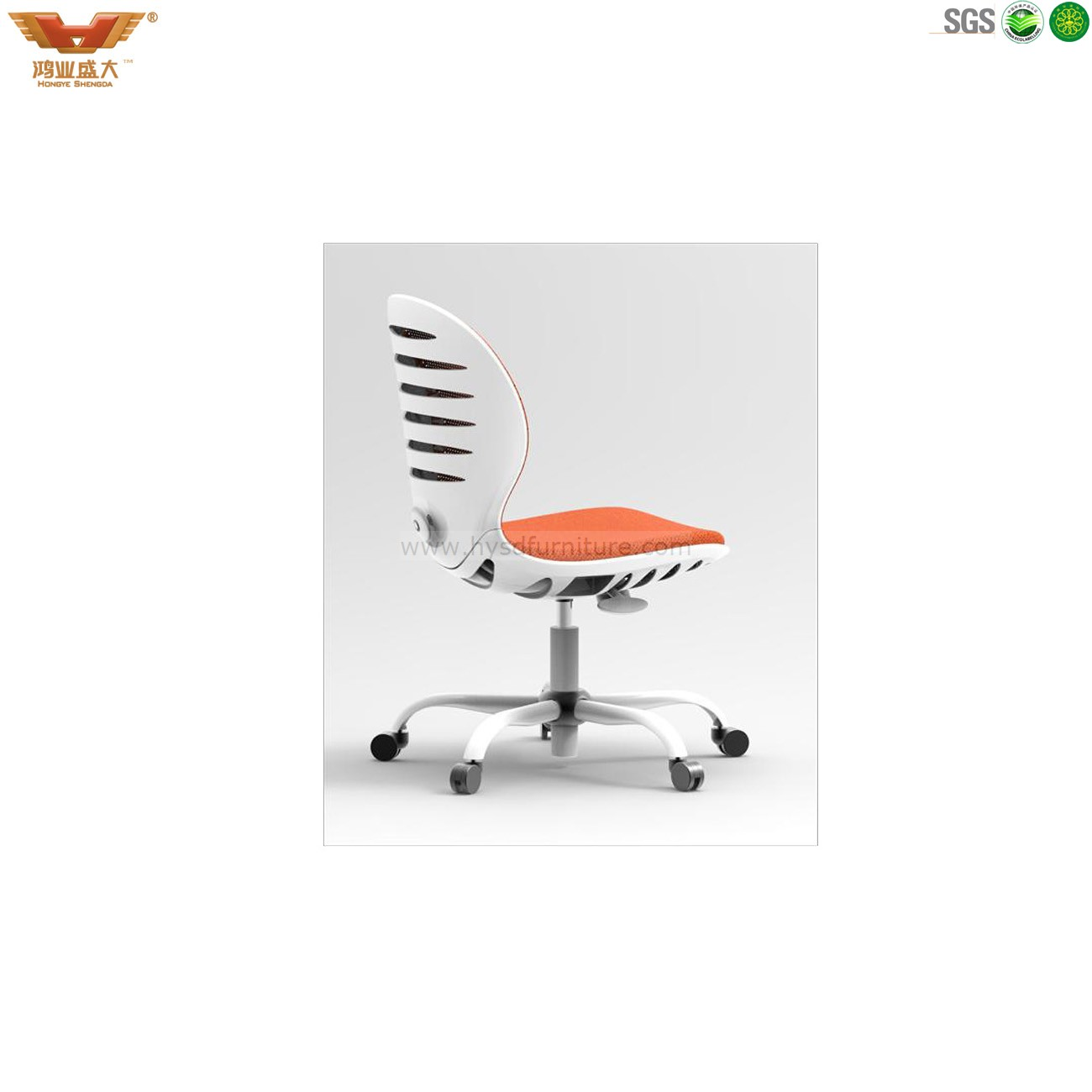 Amazing photo of modern office chair;mesh office chair with #AF441C color and 1300x1300 pixels