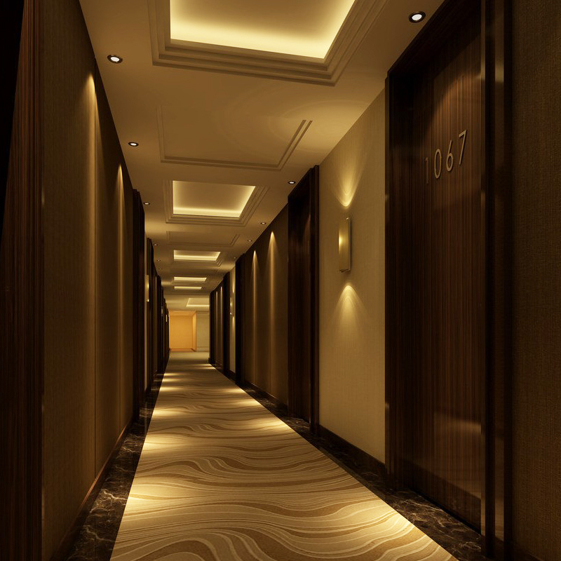 Corridor Design: Decorative Modern Wall Panel