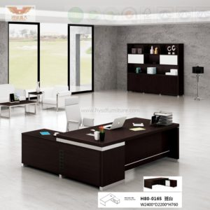 Superb High Quality Executive Desk With L Shape Return (HY08 0165)