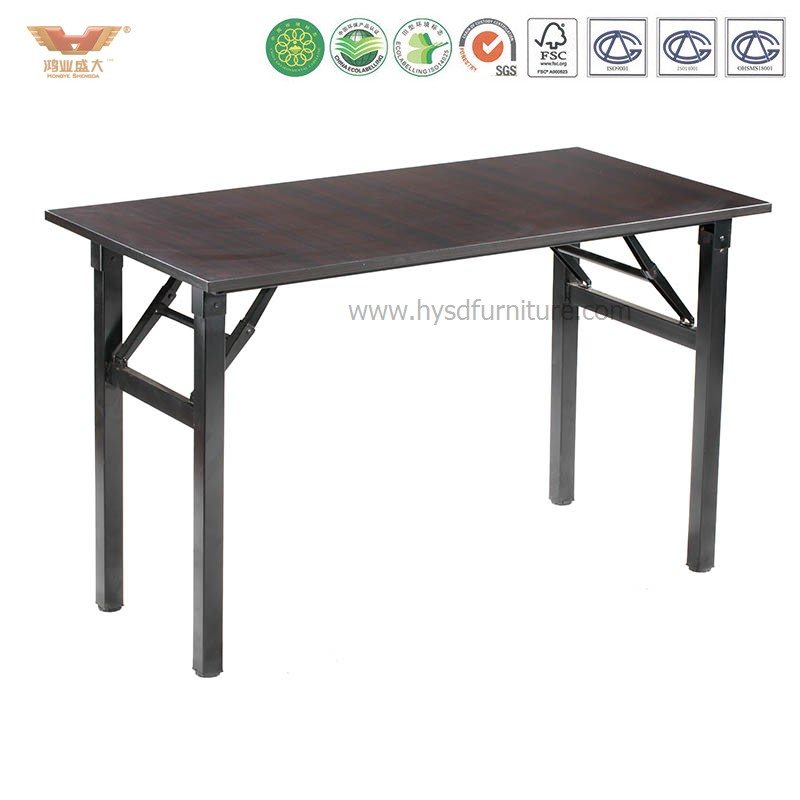 High Quality Folding Computer Desk Training Table Straight