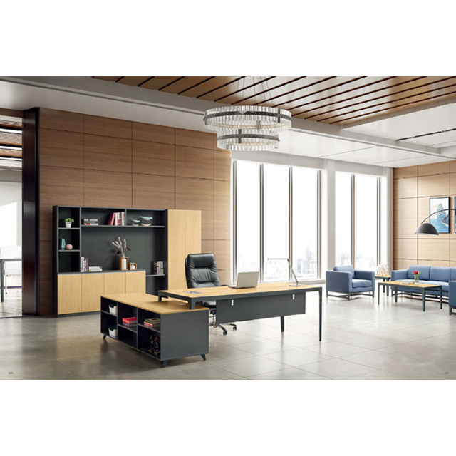 competitive price 6af1e 700c0 Luxury Executive Office Table Specifications Wooden Boss Office Furniture  Set