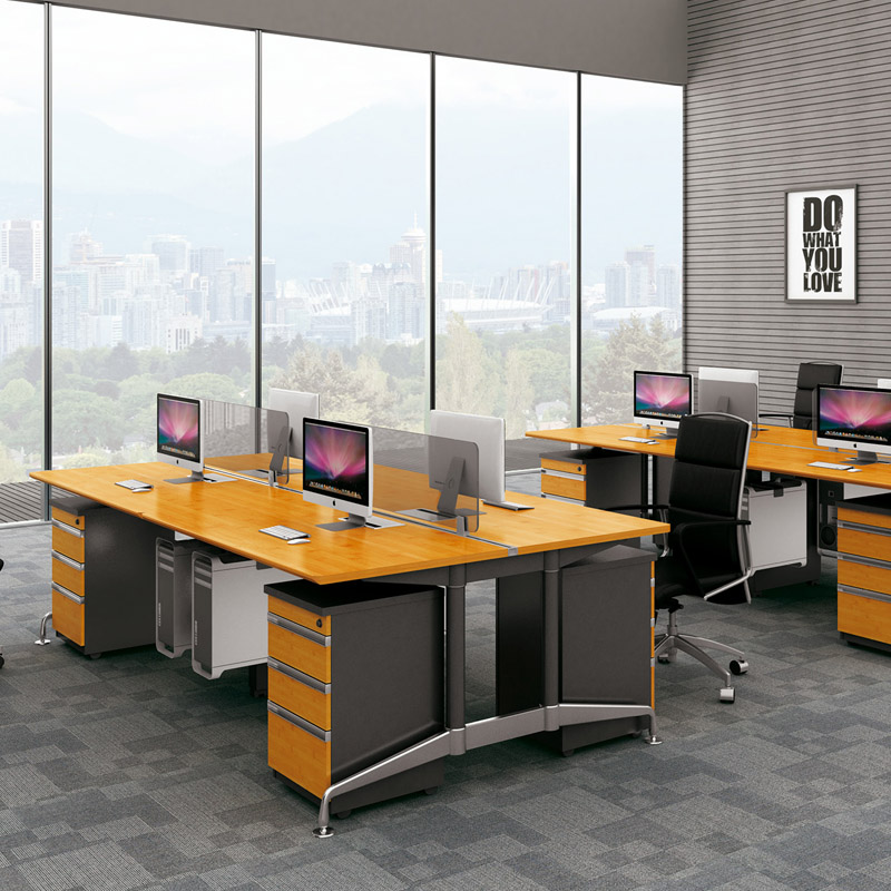 Modern Office Bamboo Small Meeting Table Fsc Forest Certified Custom Style Design Furniture