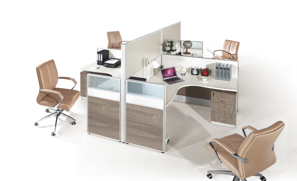 Stylish Workstation Modern Mdf Partition Board Hy P05