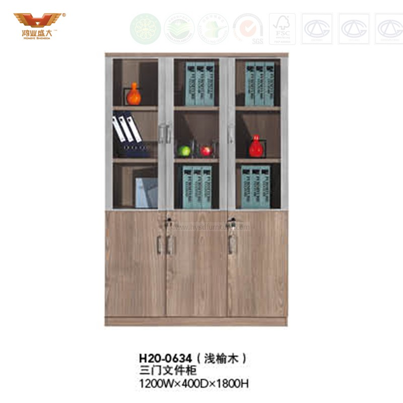Office Furniture File Cabinet Wooden Storage H20 0634