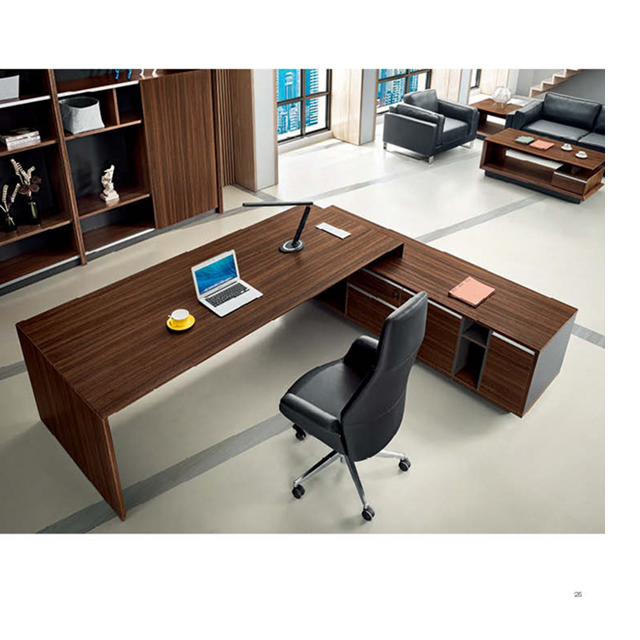 Modern Por Wooden Ceo Office Table